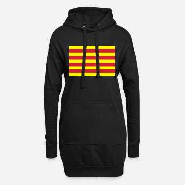 Bandera Bandera Catalunya - drapeau catalan - Robe sweat Femme