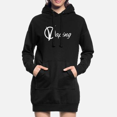 vaping 2 - Women's Hoodie Dress