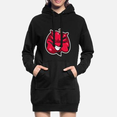 Diable Diable citrouille diable diable - Robe sweat Femme