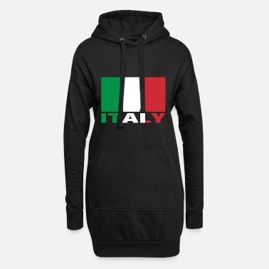 Italy Italy, Italy - Women's Hoodie Dress