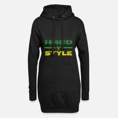 Jumpstyle Hardstyle Jumpstyle Rave - Women's Hoodie Dress