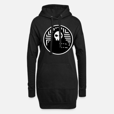 Bone Grim Reaper is waiting for you too - Death - Women's Hoodie Dress