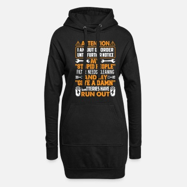 Fitness I Am Out Of Order Until Further Notice Funny Shirt - Women's Hoodie Dress