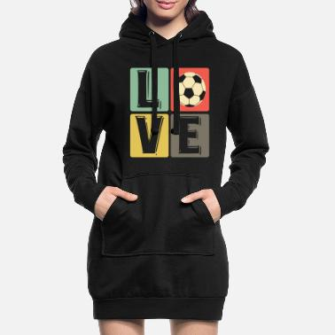 Soccer love soccer players soccer players - Women's Hoodie Dress