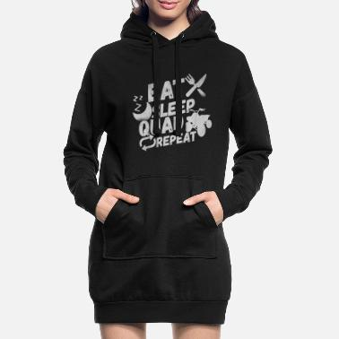 Quads Quad ATV Offroad Gift - Women's Hoodie Dress