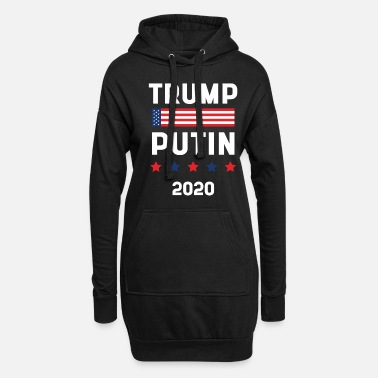 Elections Donald Trump President 2020 - USA Flag Gift - Women's Hoodie Dress