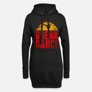 Breakdance Breakdance-tanssi hip hop rap 80s 90s - Naisten hupparimekko