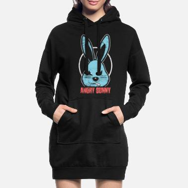 Rongeur Lapin Bad Rabbit Horror Halloween Pâques - Robe sweat Femme
