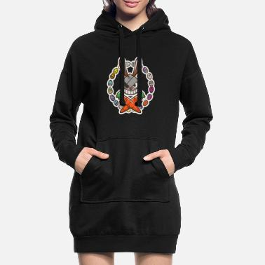 Easter Easter bunny bunny chocolate gift - Women's Hoodie Dress