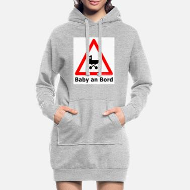 baby_an_bord - Women's Hoodie Dress