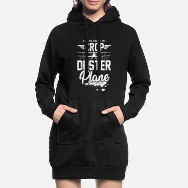 Who Loves Me Ask Me About My Crop Duster Plane AG Pilot - Frauen Hoodiekleid