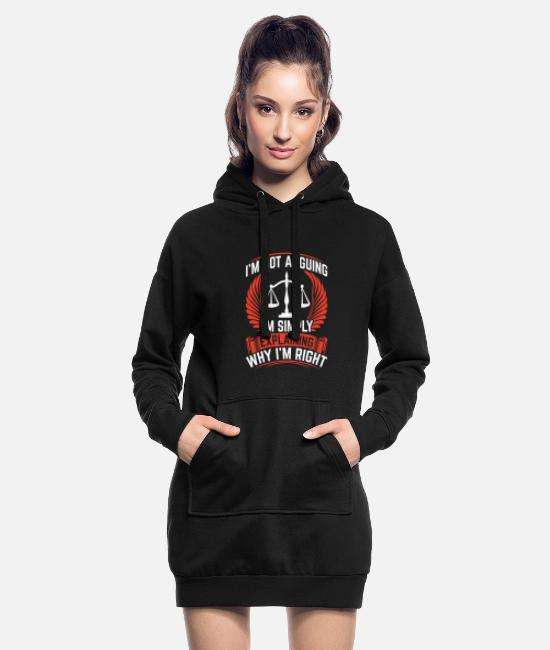 Studies Hoodies & Sweatshirts - Lawyer profession | Lawyers lawyers gift ideas - Women's Hoodie Dress black