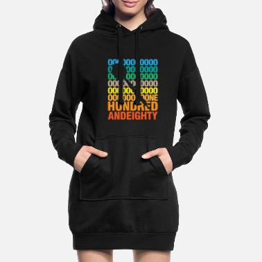 Skewer Hundred and eighty darts litter skewer saying gift - Women's Hoodie Dress