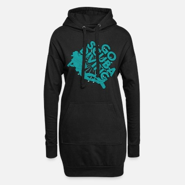 Divers Diver Gift Diver Diver Sports nautiques - Robe sweat Femme