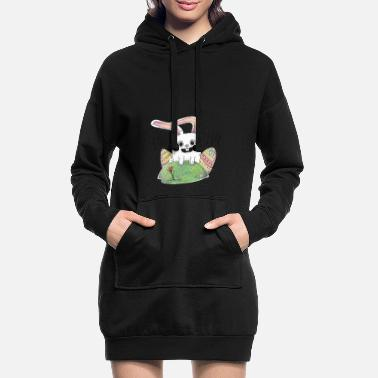 Easter Easter is here! Nice gift Cool for kids - Women's Hoodie Dress