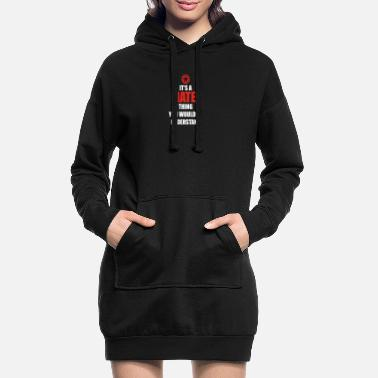 Mateo Gift it sa thing birthday understand MATEO - Women's Hoodie Dress