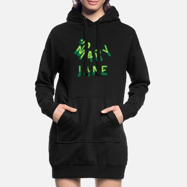Marie Jane Mary Jane - Women's Hoodie Dress