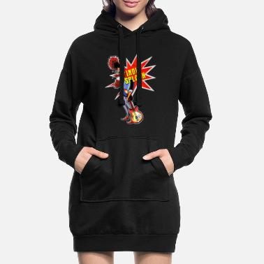 Indie Indie Splash - Women's Hoodie Dress