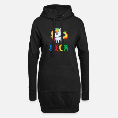 Dick Unicorn Dick - Vestito felpa donna