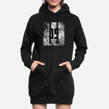 Grungy Slightly Grungy JavaScript - Women's Hoodie Dress