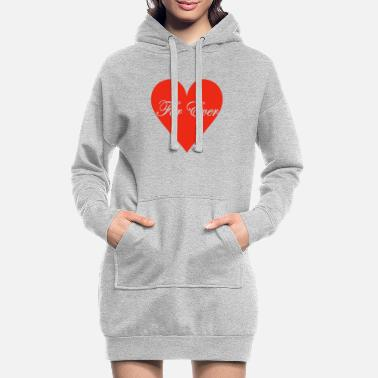 for_ever - Women's Hoodie Dress