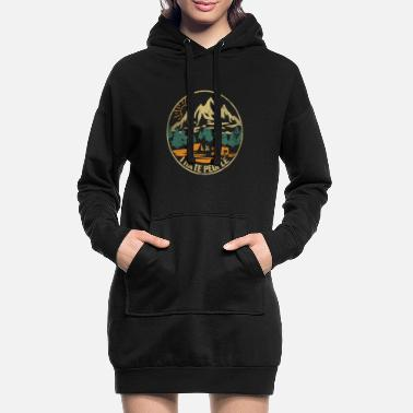 People I Hate People - I hate people gift nature - Women's Hoodie Dress