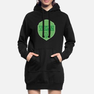 Health Vegan Health Protection des animaux - Robe sweat Femme