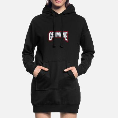Germanen Germane - Frauen Hoodiekleid