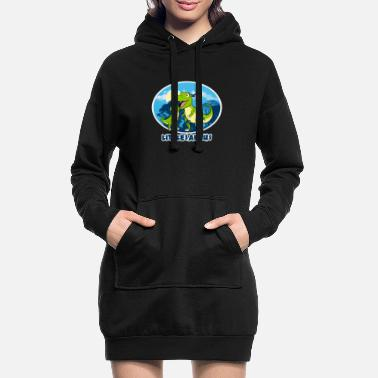 Brotherasurus Sibling Brother Little Saurus I gift - Women's Hoodie Dress