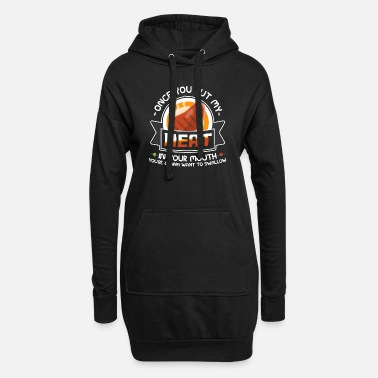 Down Dirty Adult Gift design | Meat in Your Mouth | - Women's Hoodie Dress