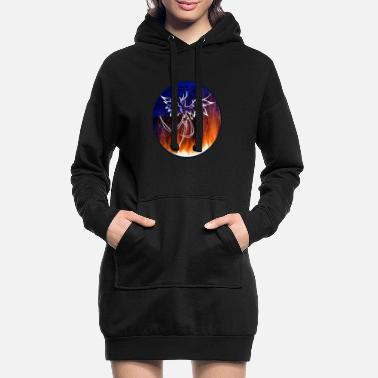 Mythology Firebird mythology - Women's Hoodie Dress