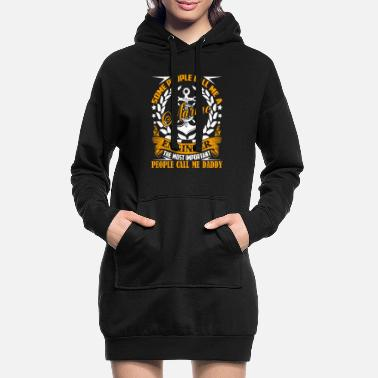 Cool Marine Engineer Marine Engineer Daddy - Women's Hoodie Dress