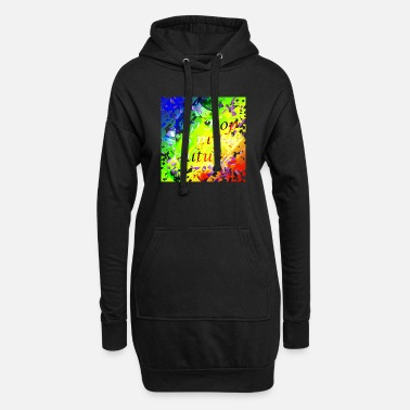 Hip hip hop - Women's Hoodie Dress