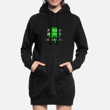 Feckin Feckin Eejit for St Paddy's Day - Women's Hoodie Dress