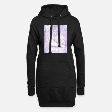 Lilac Lilac Swirl - Women's Hoodie Dress