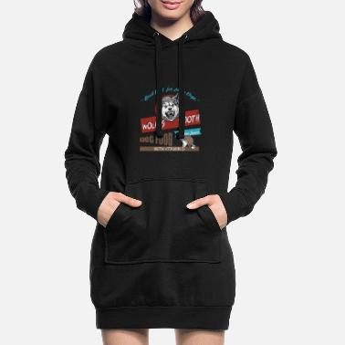 Tooth Good Food For Mean Dogs - Women's Hoodie Dress