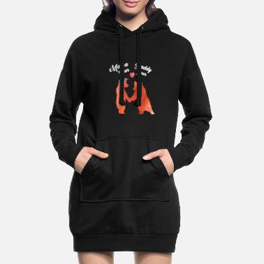 Maman Maman ours et papa ours - Robe sweat Femme