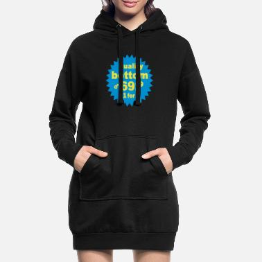 Text quality 2 - Frauen Hoodiekleid