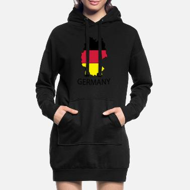 germany - Women's Hoodie Dress