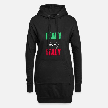 Italy Italy Italy Italy - Women's Hoodie Dress