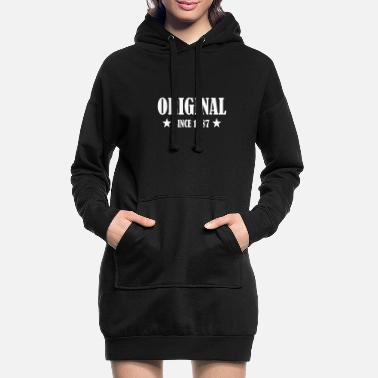 ORIGINAL SINCE 1987 BDAY BIRTHDAY GEBURTSTAG - Frauen Hoodiekleid