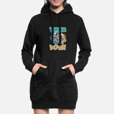 Football Stadium American football footballer - Women's Hoodie Dress
