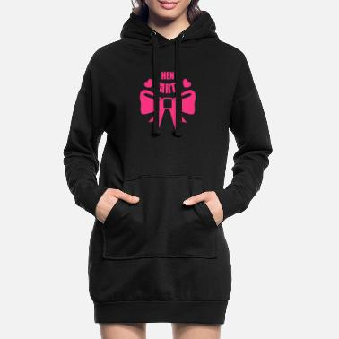 Hen Night Steg & Hen Nights, Hen Party, Hen Parties - Hoodie klänning dam