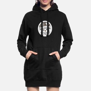 Believe In Yourself - Frauen Hoodiekleid