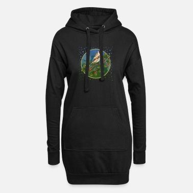 Logo Colorful bird - Women's Hoodie Dress