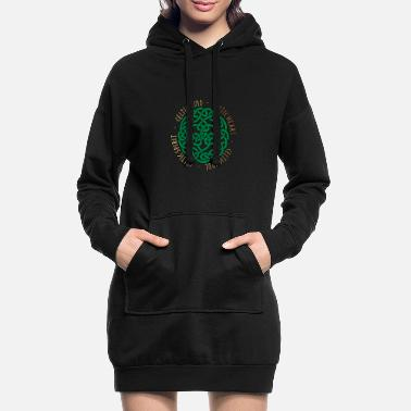 Celtic Celtic Heart - Celtic Soul - Celtic Spirit - Robe sweat Femme