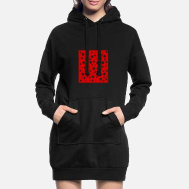 Transparent Points transparent - Women's Hoodie Dress