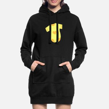 Feet Underwear Baby underwear symbol icon shape - Women's Hoodie Dress