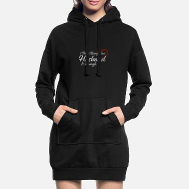 Beziehung I think Beeing your Wife is enough Vintage Geschen - Frauen Hoodiekleid