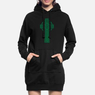 Celtic Celtic cross - Robe sweat Femme